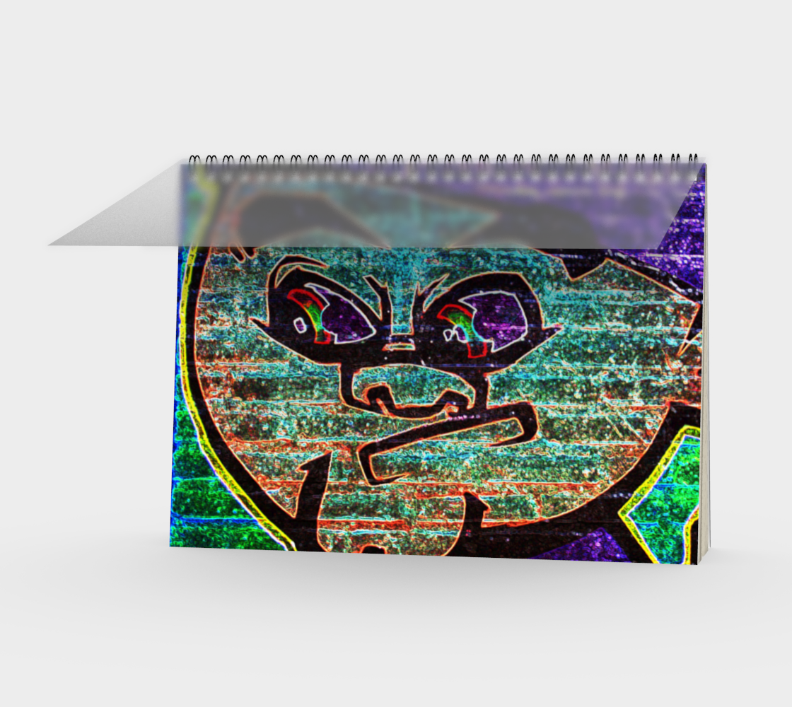 Graffiti 7 Spiral Notebook preview
