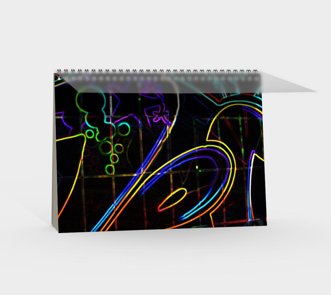 Graffiti 10 Spiral Notebook preview #2