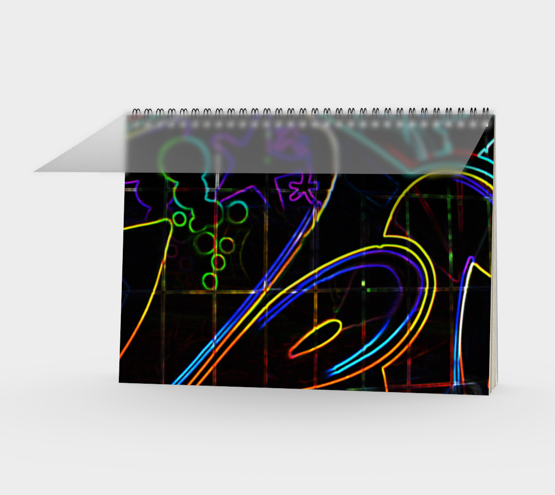 Graffiti 10 Spiral Notebook preview
