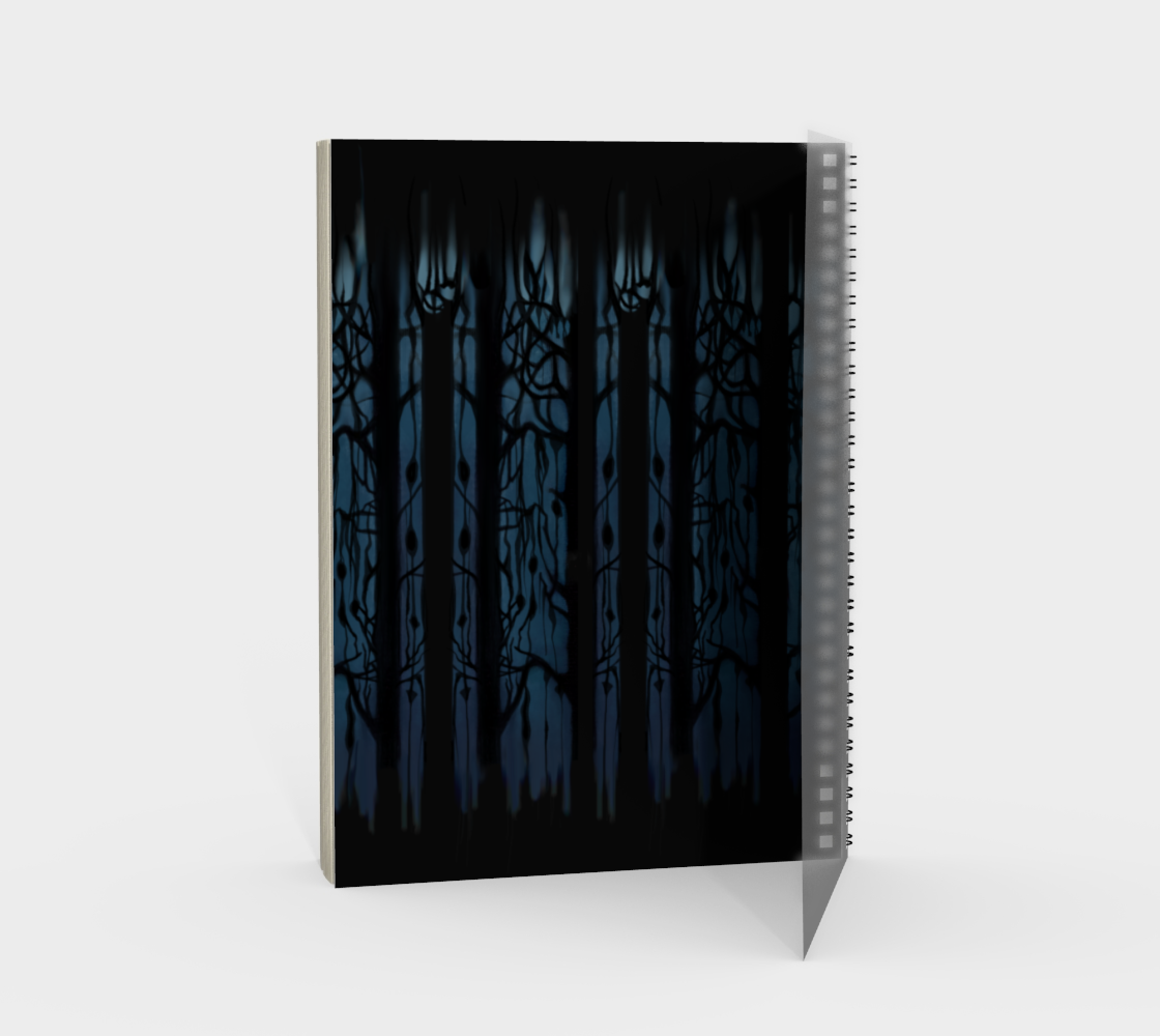 Fox Forest Notebook preview #2