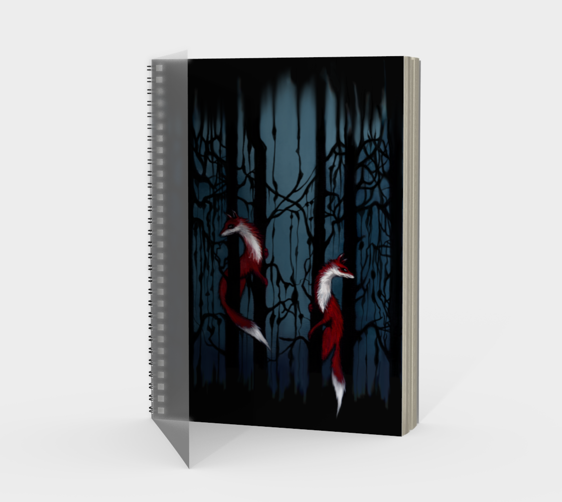 Fox Forest Notebook preview #1