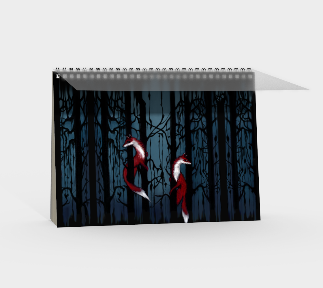 Fox Forest Notebook Landscape preview #2