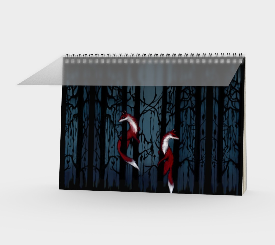 Fox Forest Notebook Landscape preview #1