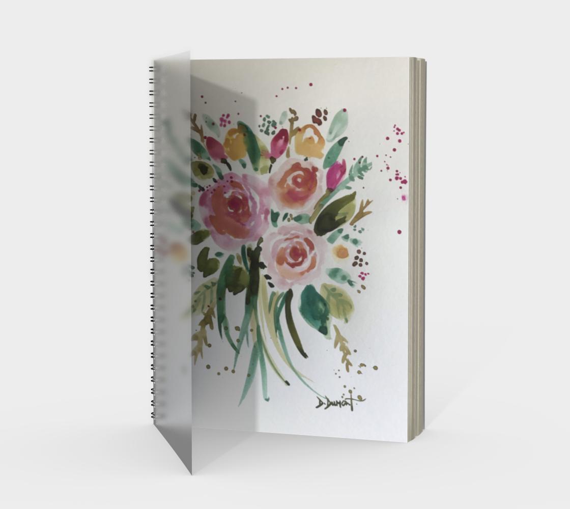 Cahier Bouquet d'espoir preview