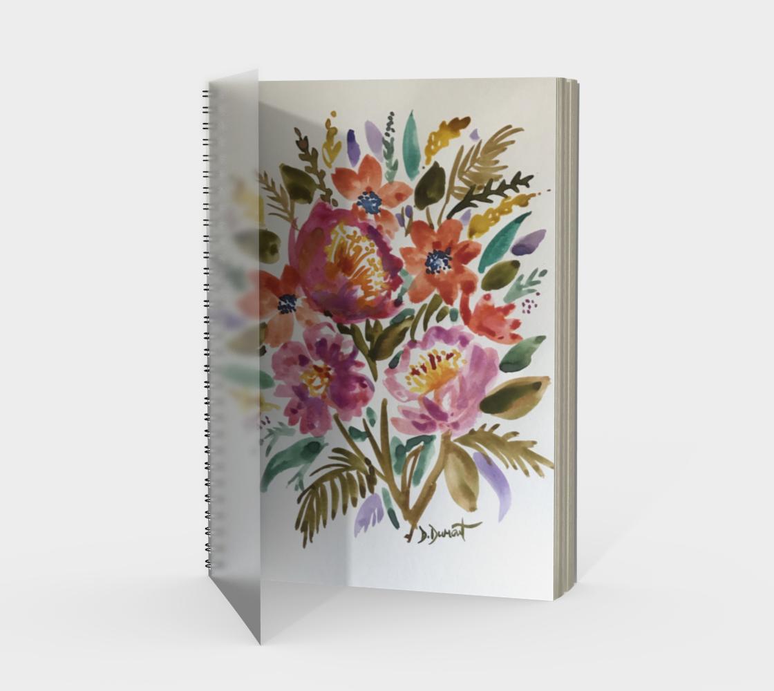Aperçu de Cahier Bouquet d'amour