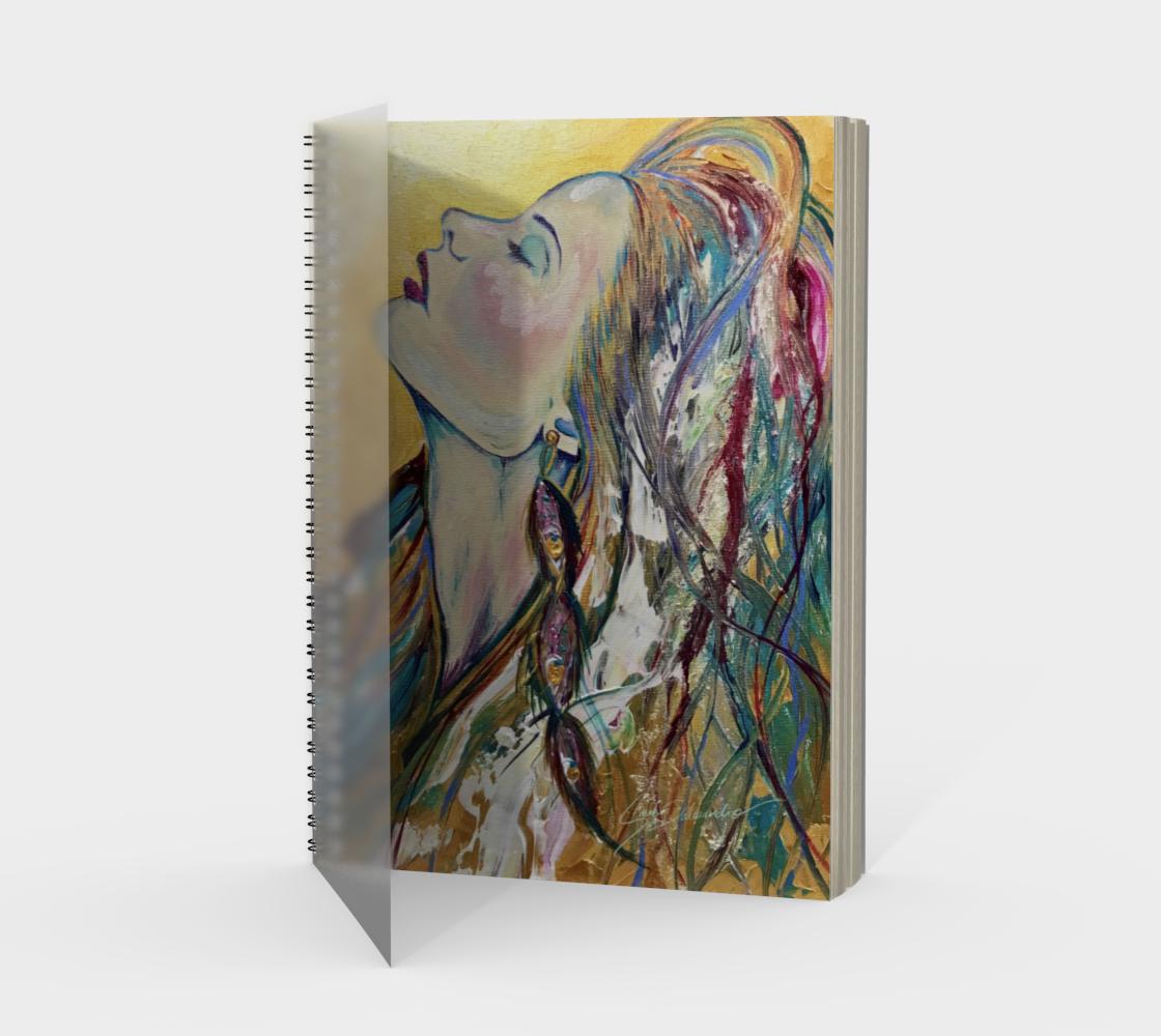 Aperçu de Sundrenched Spiral Notebook
