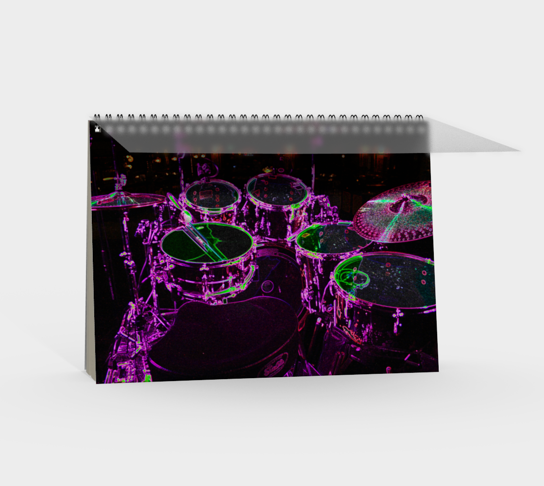 Drums Spiral Notebook preview #2