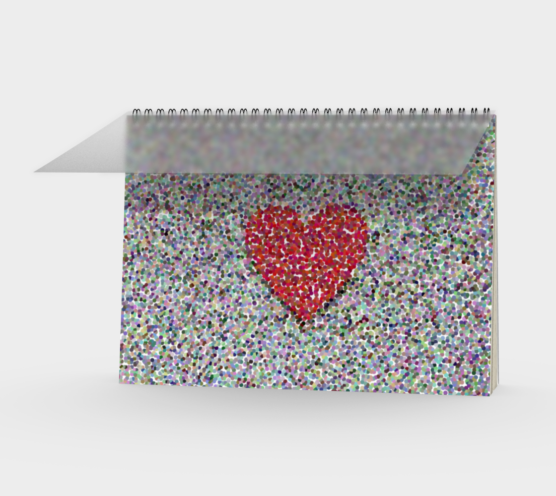 Single Red Heart in Spots preview