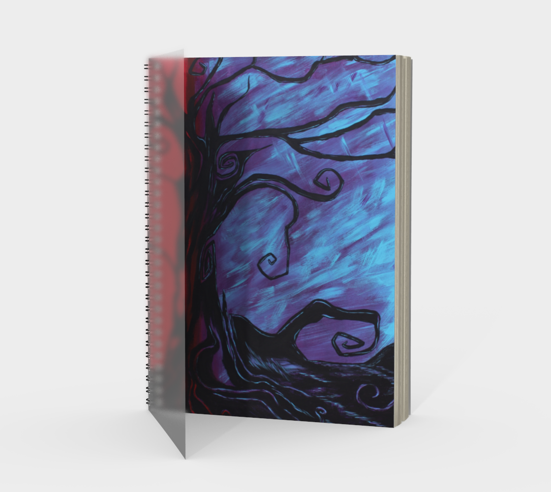 Mystic Night Spiral Notebook/Sketchbook preview