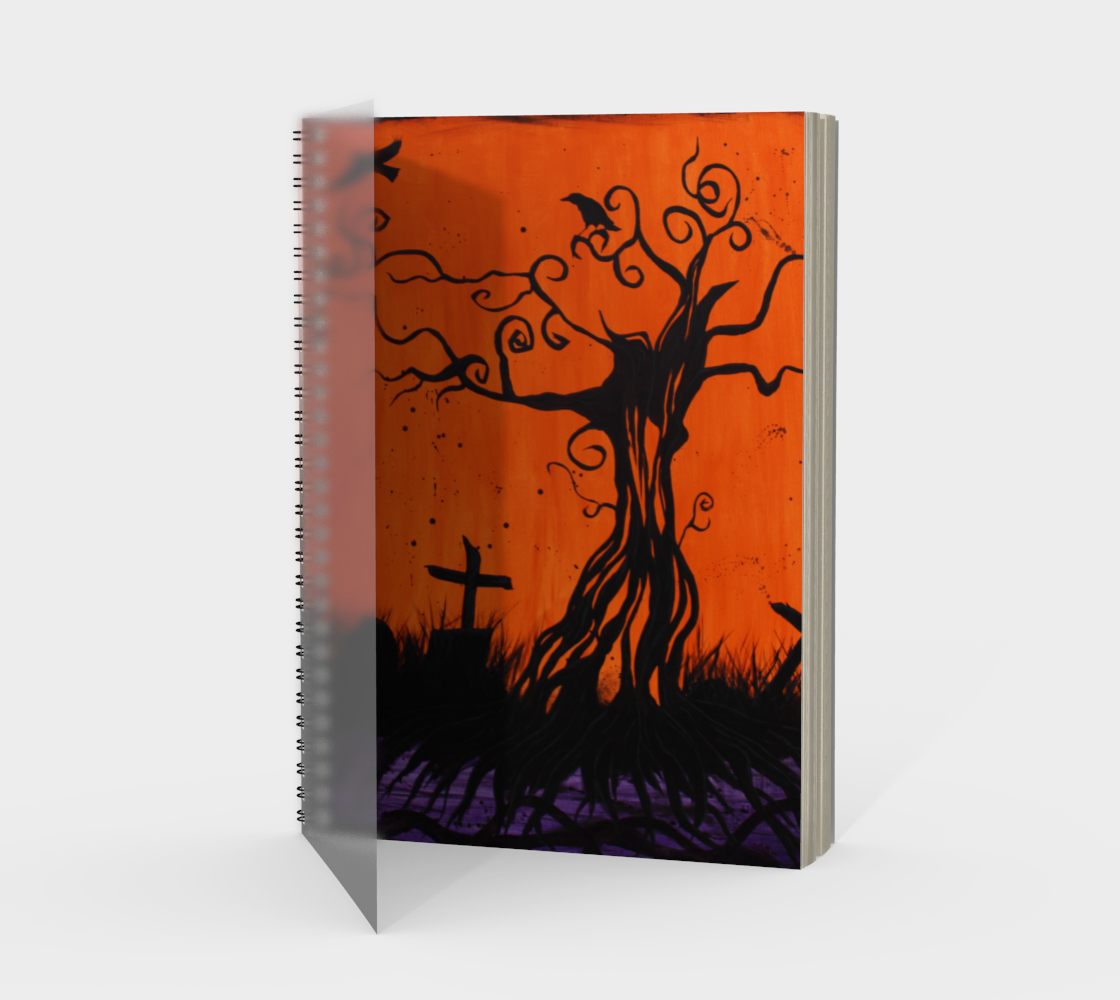 Samhain Tree of Remembrance Spiral Notebook/Sketchbook preview