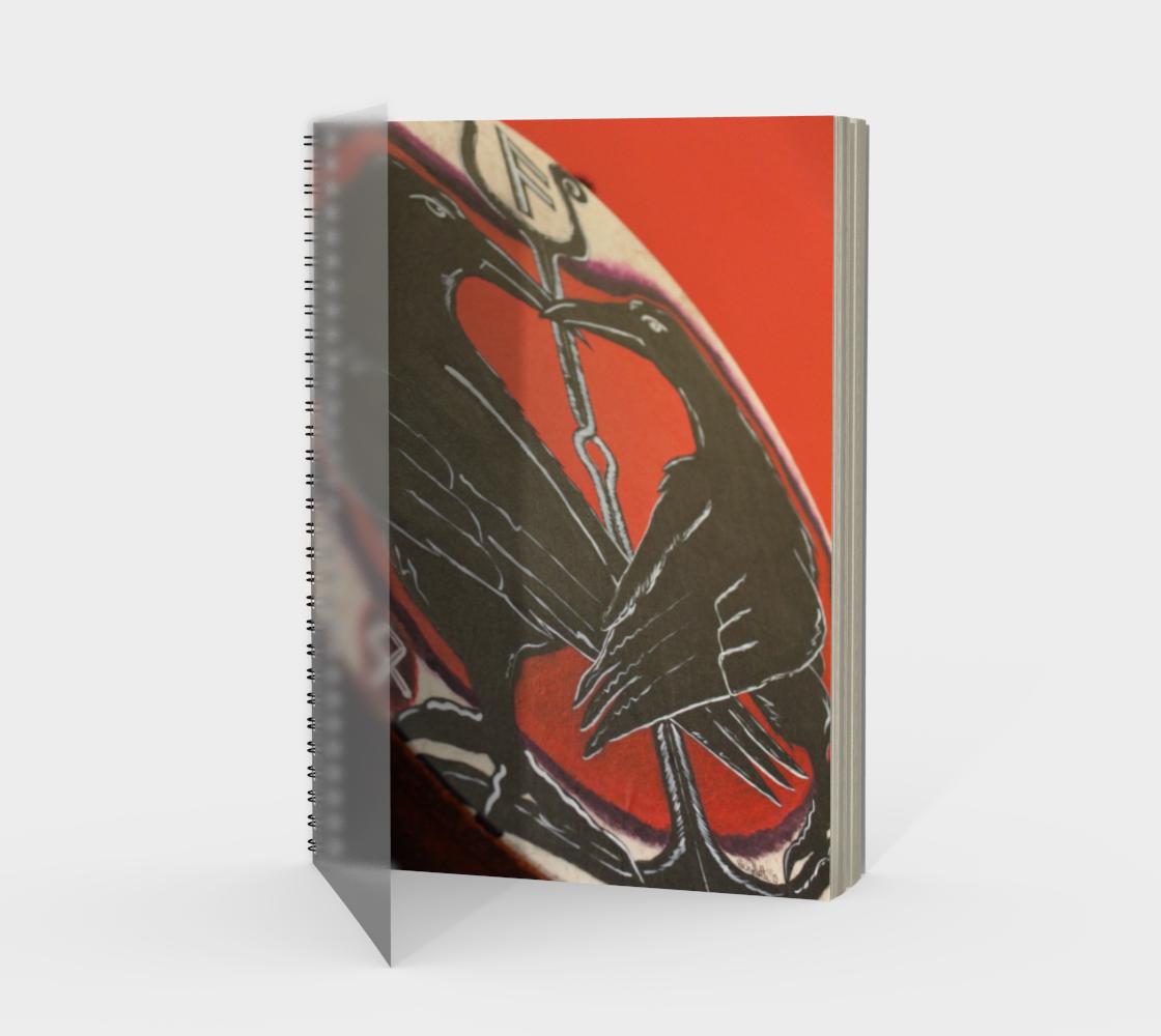 Odin's Ravens Spiral Notebook/Sketchbook preview