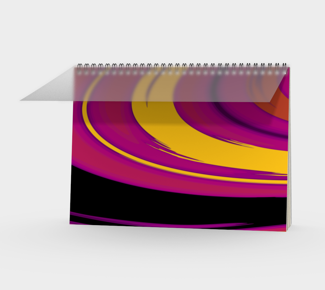 Curves in Yellow and Purple preview