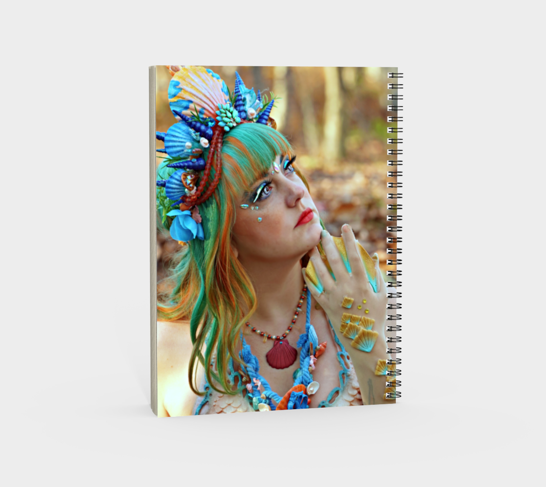 Mermaid Note Book Dual Sided preview #4