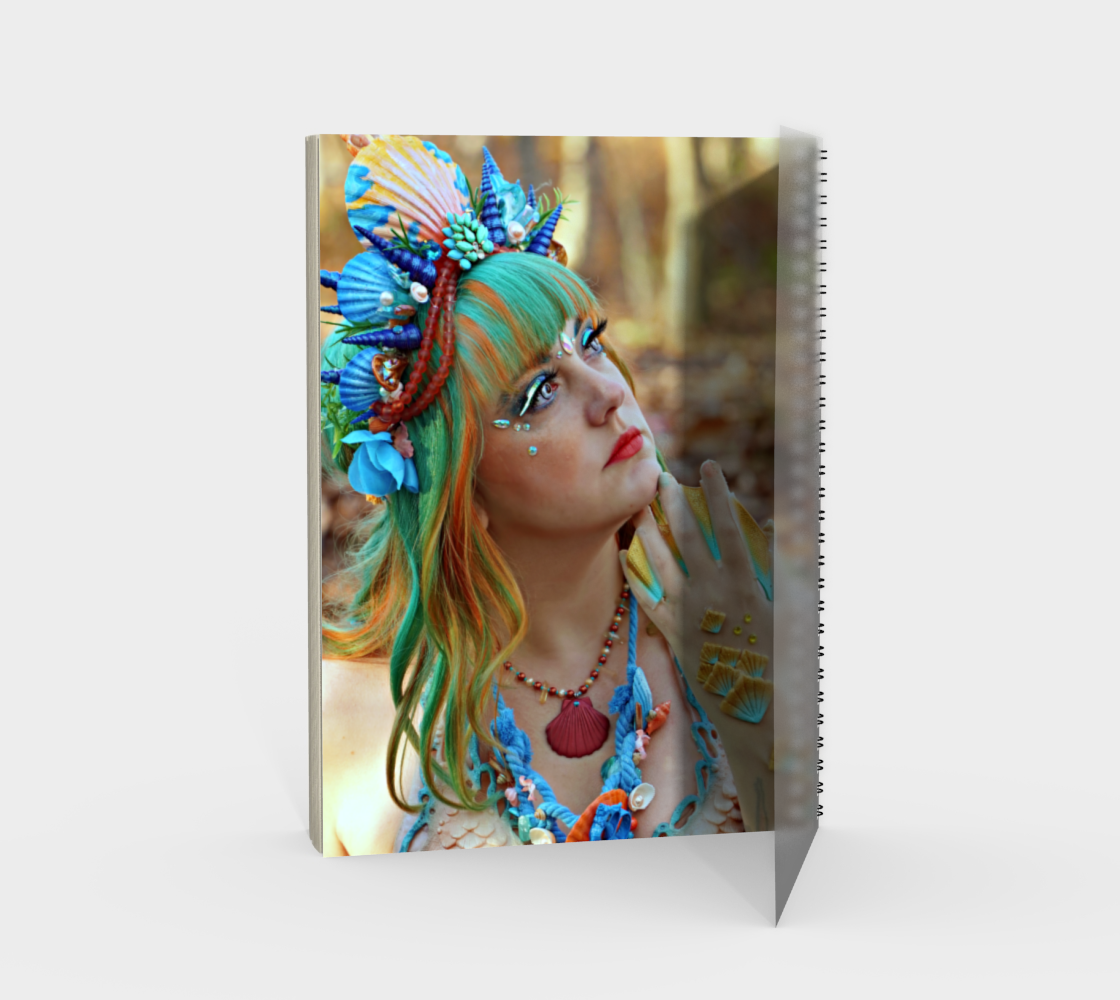 Mermaid Note Book Dual Sided preview #2
