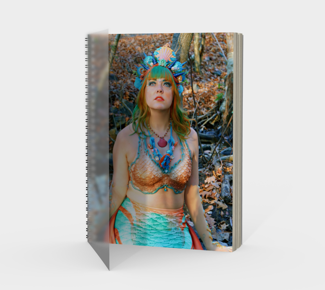 Mermaid Note Book Dual Sided preview