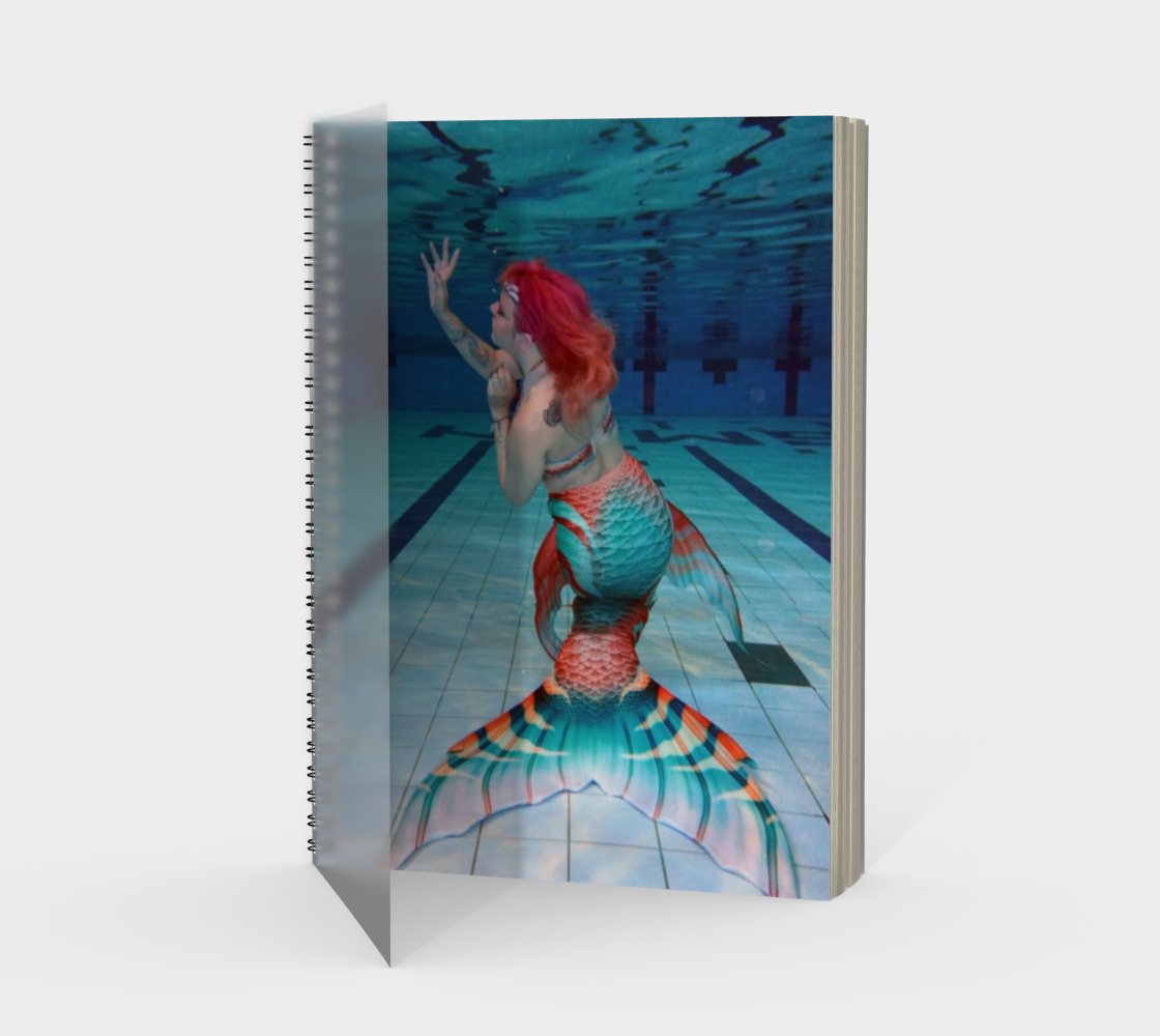 Underwater Mermaid Notebook preview