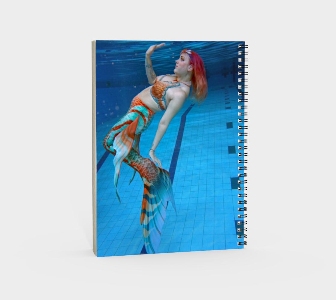 Underwater Mermaid Notebook 2 preview #4