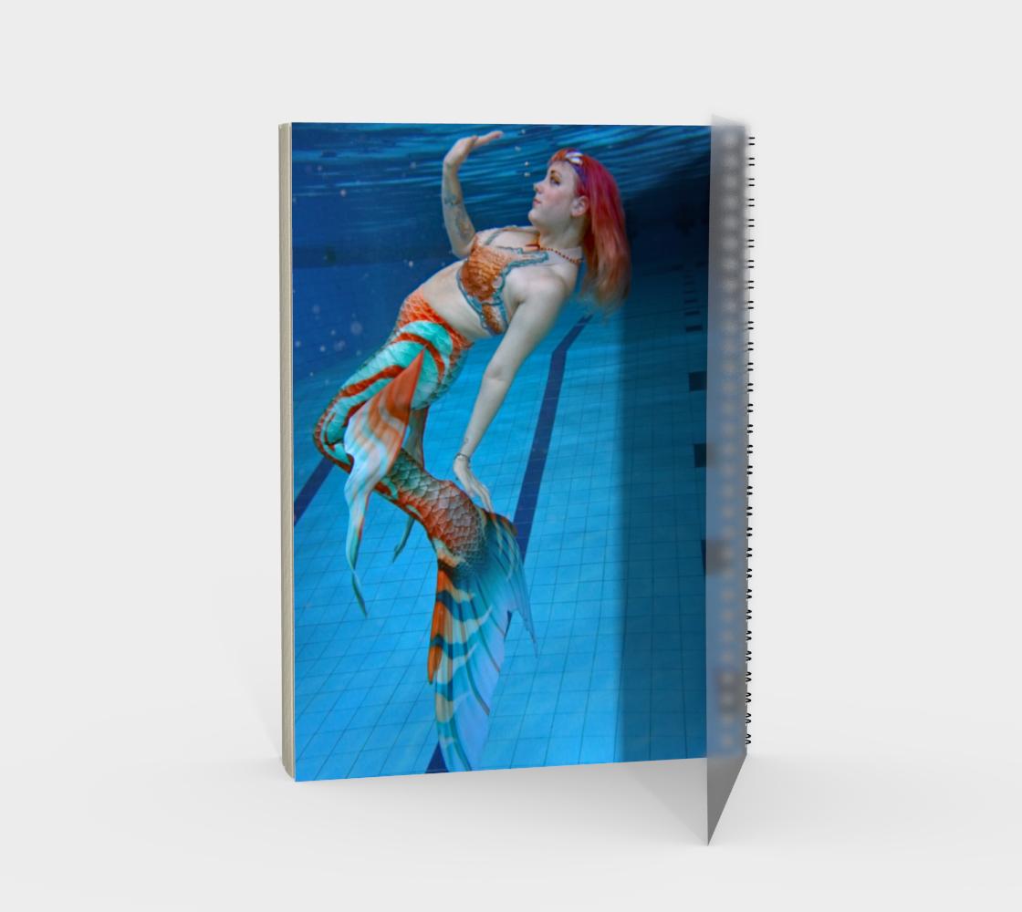 Underwater Mermaid Notebook 2 preview #2