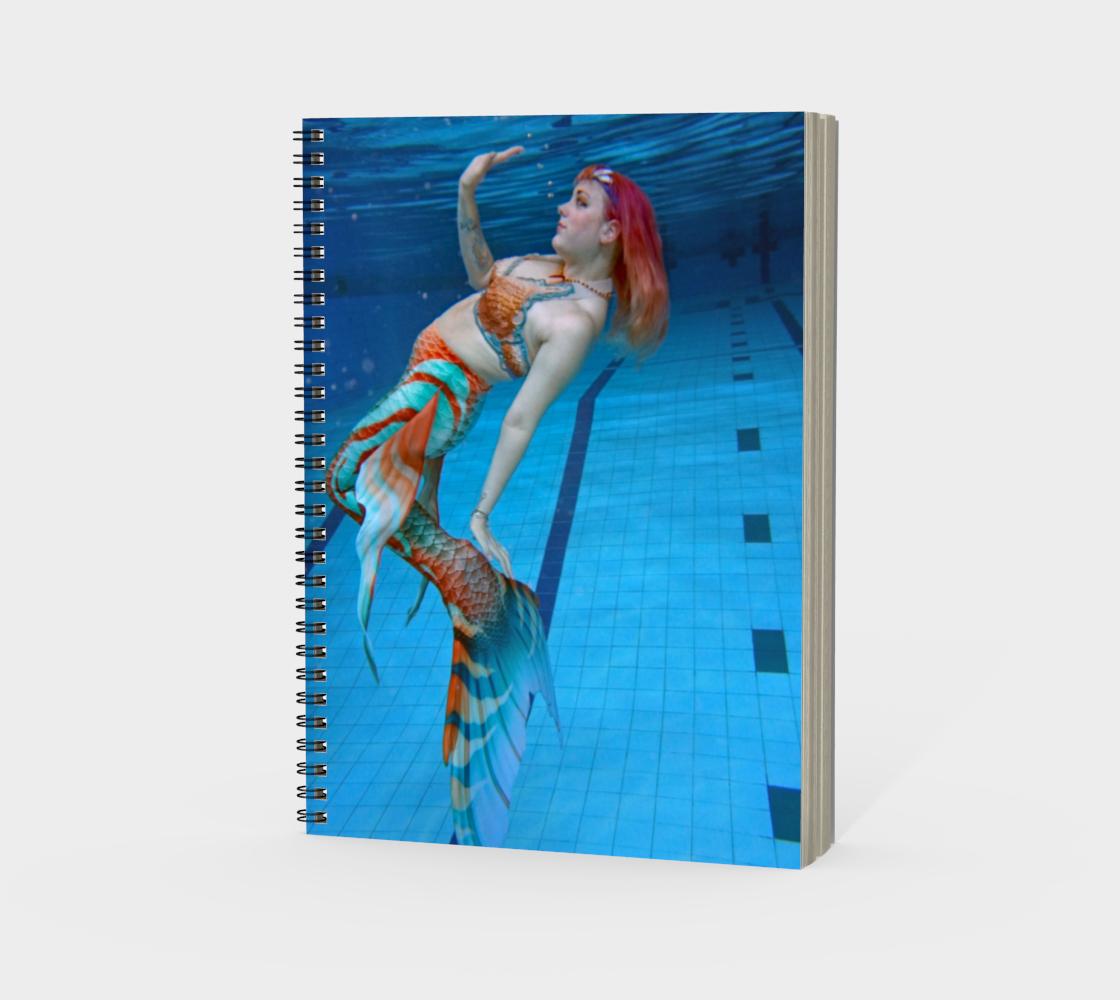 Underwater Mermaid Notebook 2 preview #3