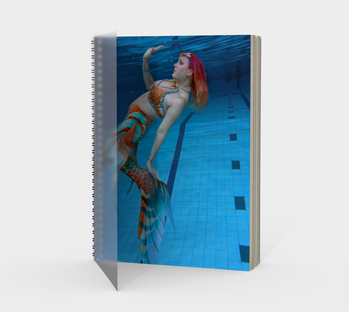 Underwater Mermaid Notebook 2 preview