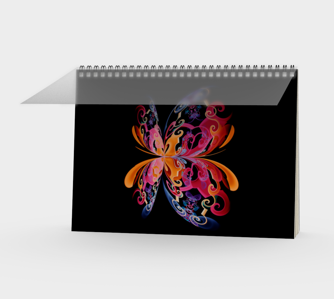Colorfly Spiral Notebook preview
