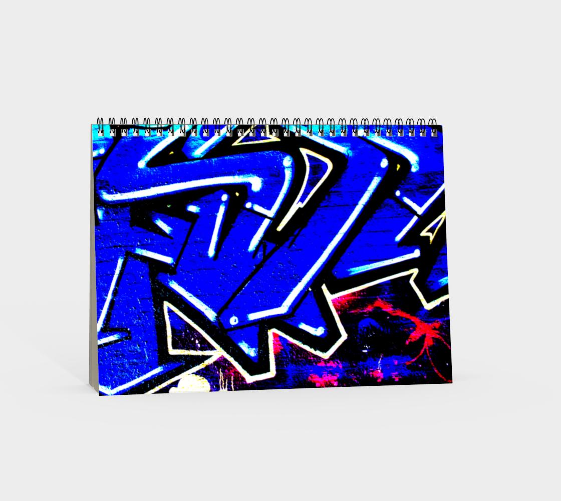 Graffiti 13 Spiral Notebook preview #4