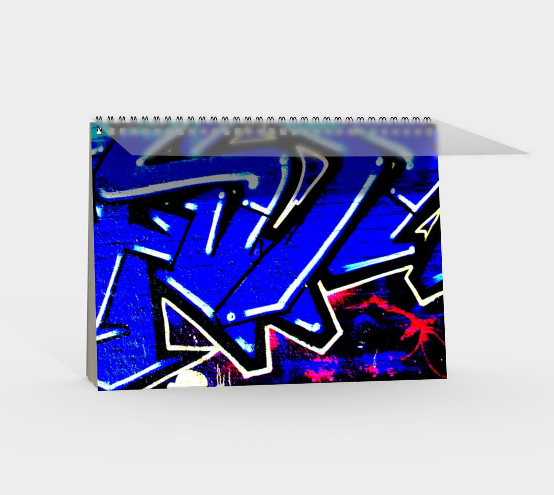 Graffiti 13 Spiral Notebook preview #2