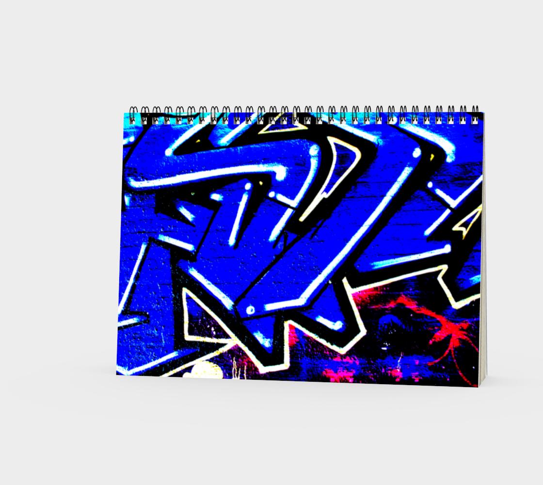 Graffiti 13 Spiral Notebook preview #3