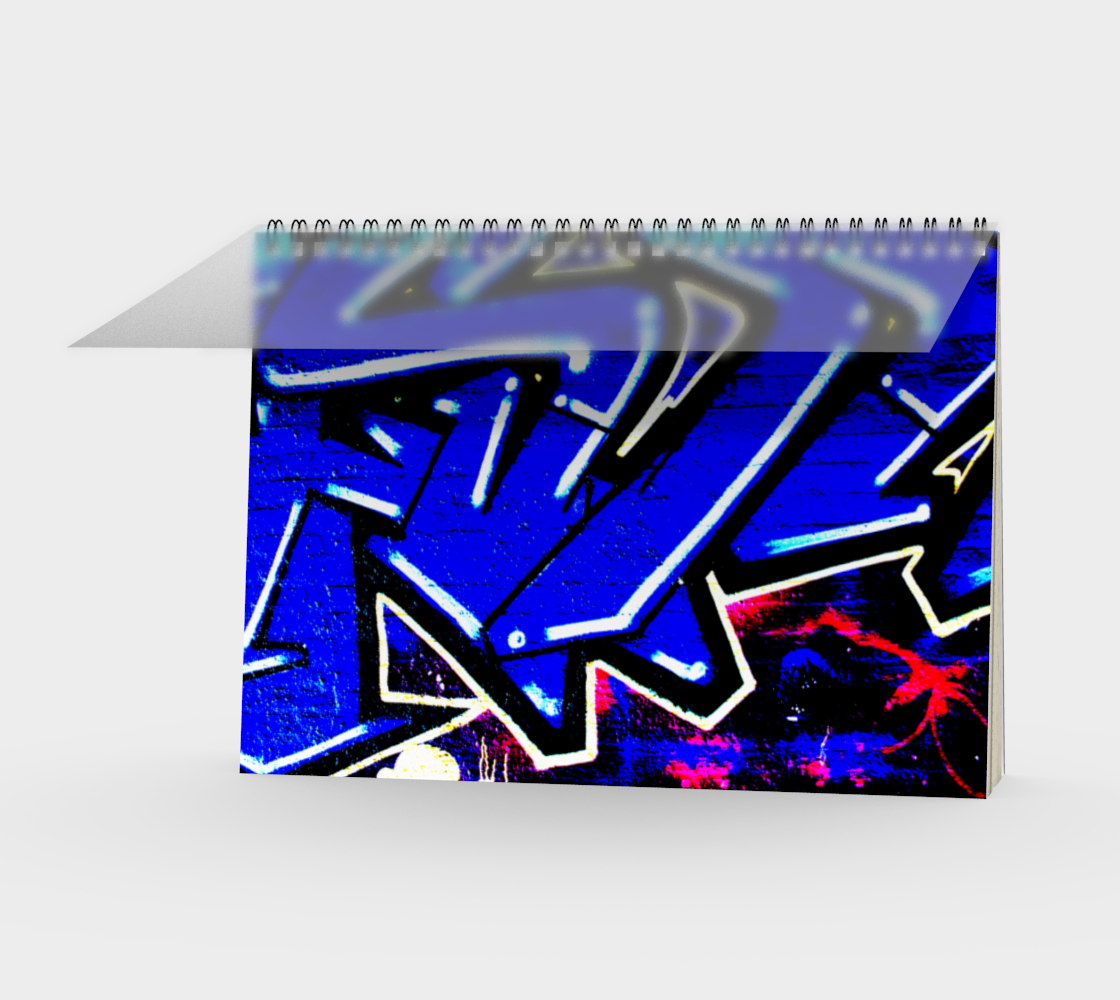 Graffiti 13 Spiral Notebook preview
