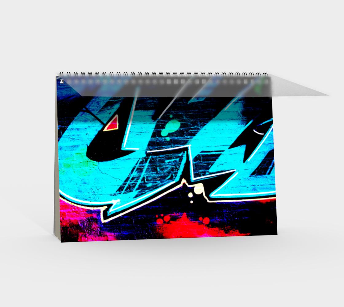 Graffiti 14 Spiral Notebook preview #2