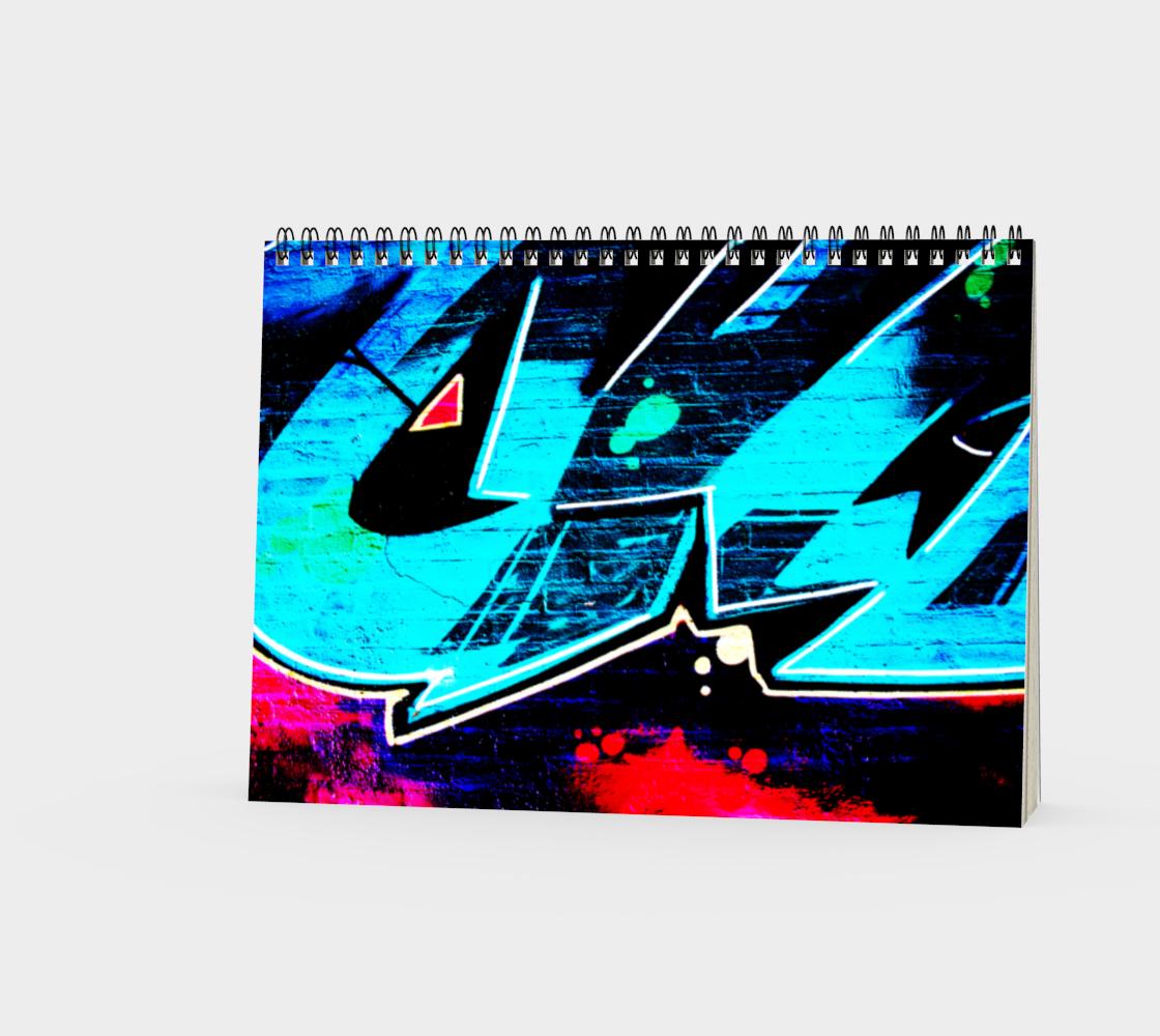 Graffiti 14 Spiral Notebook preview #3