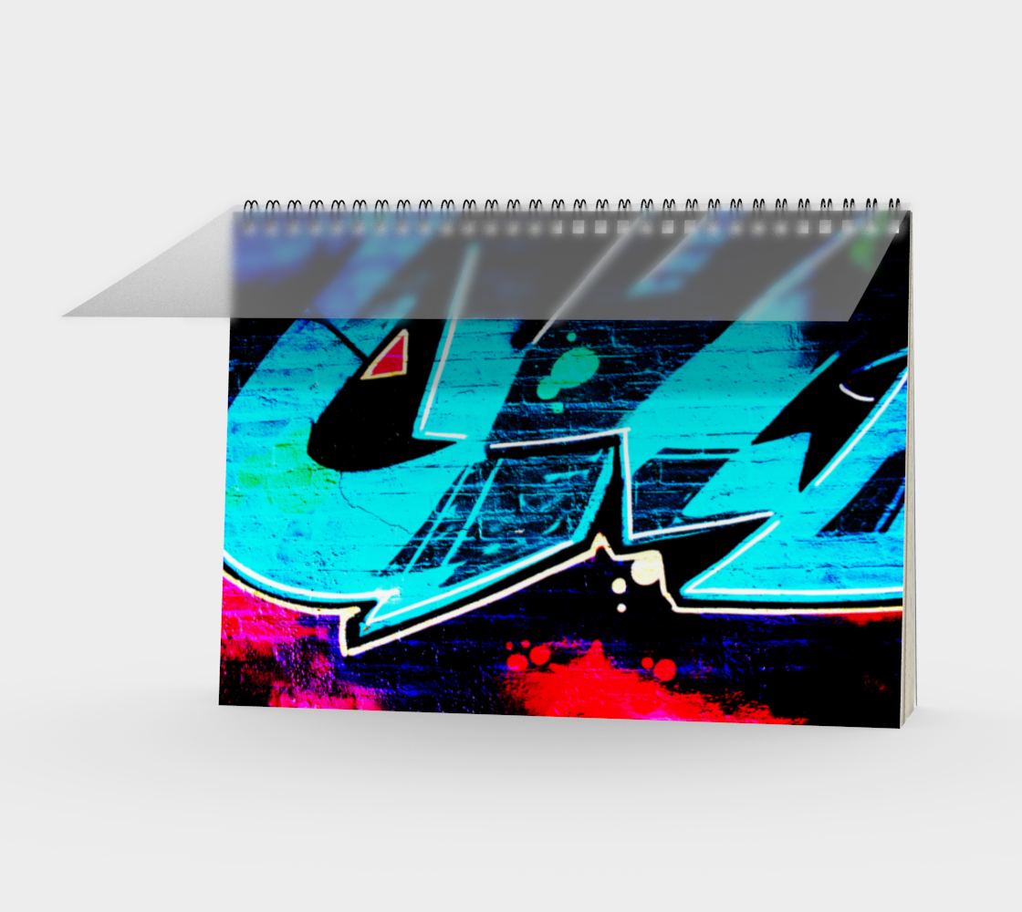 Graffiti 14 Spiral Notebook preview