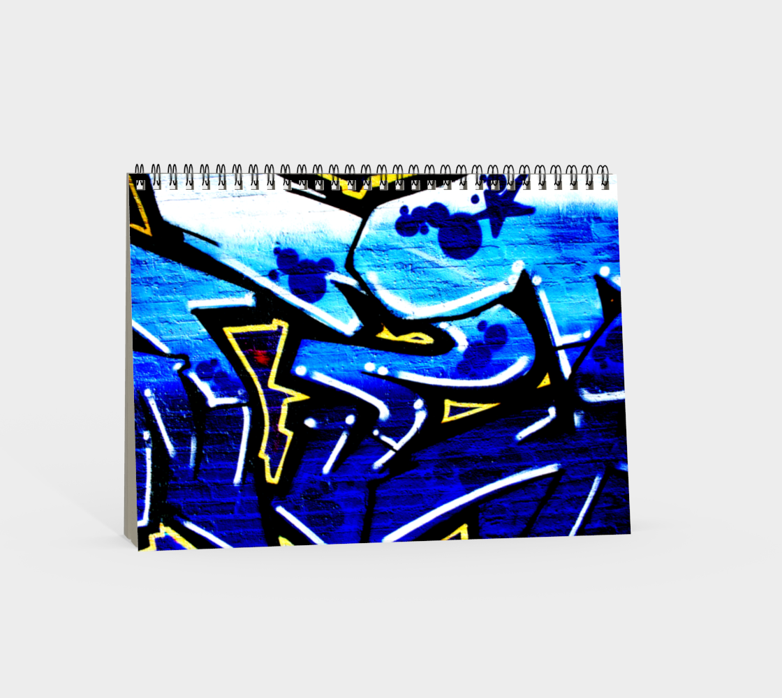 Graffiti 15 Spiral Notebook preview #4
