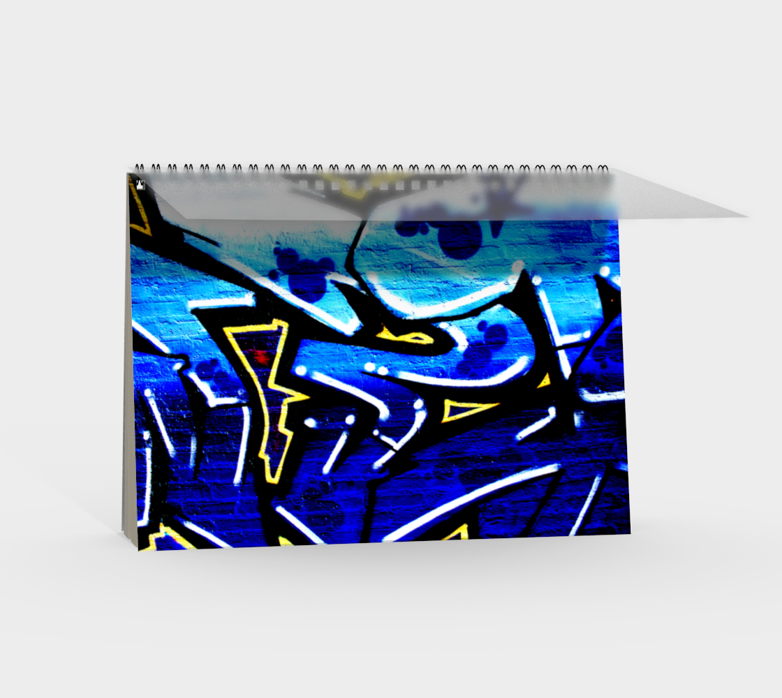 Graffiti 15 Spiral Notebook preview #2