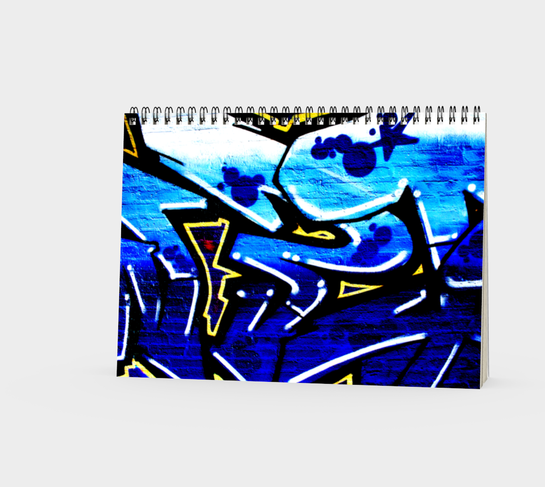 Graffiti 15 Spiral Notebook preview #3