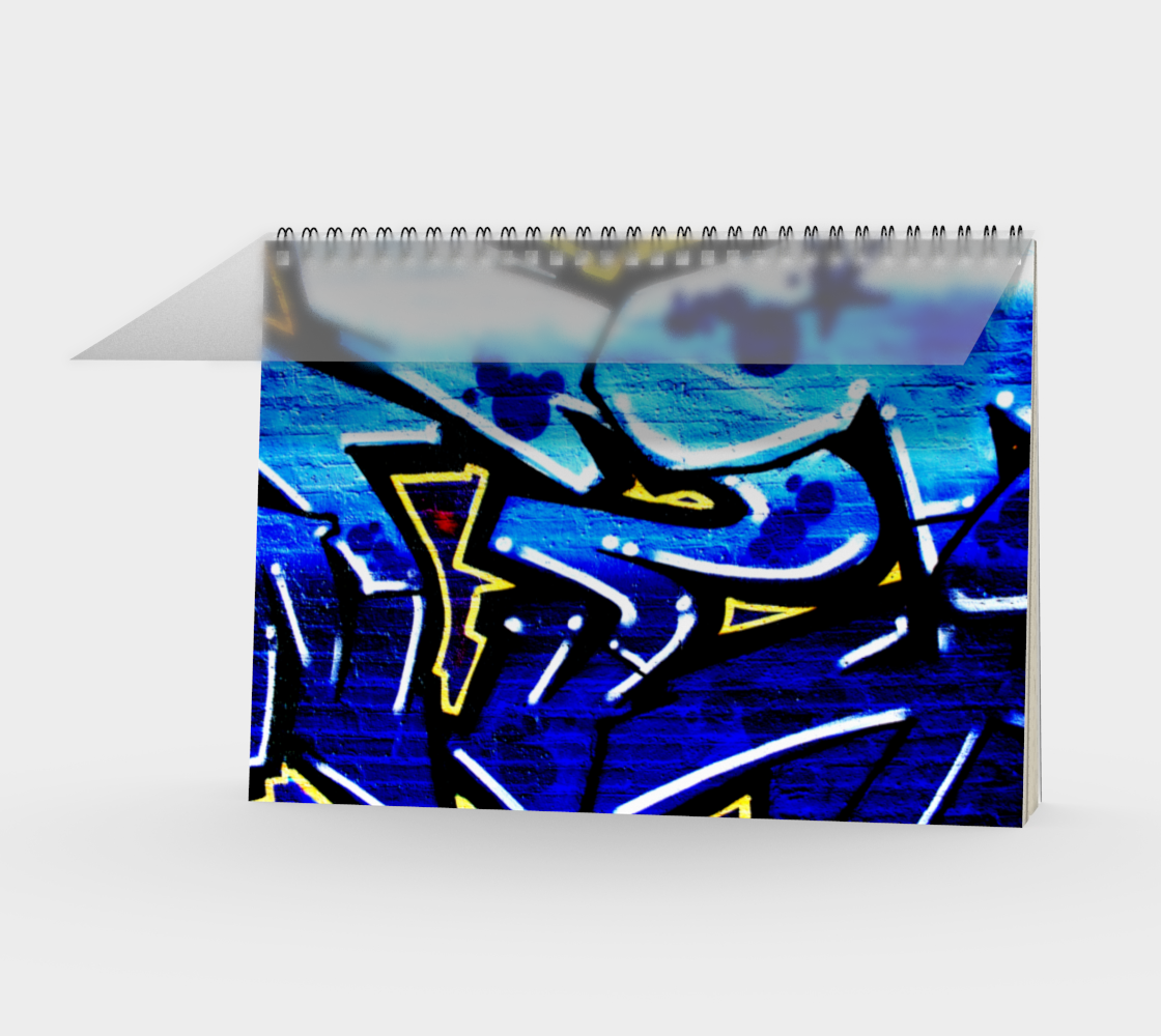 Graffiti 15 Spiral Notebook preview