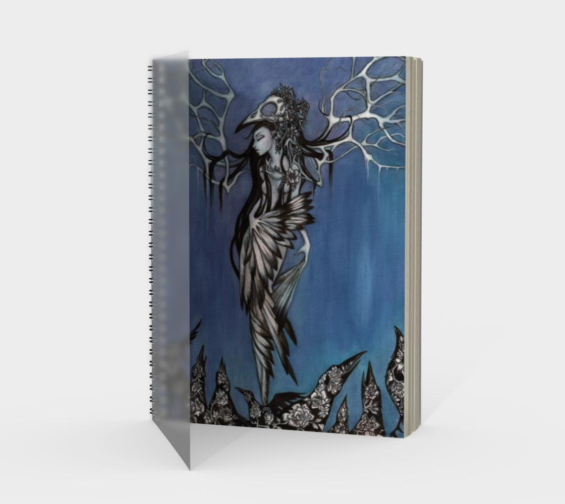 Aperçu de Ravens Prophet Spiral Notebook