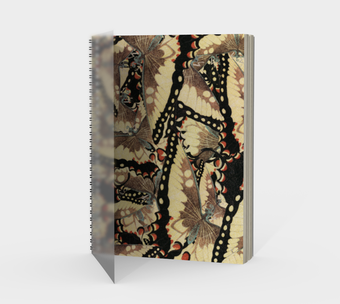 Edo Butterfly Spiral Notebook preview