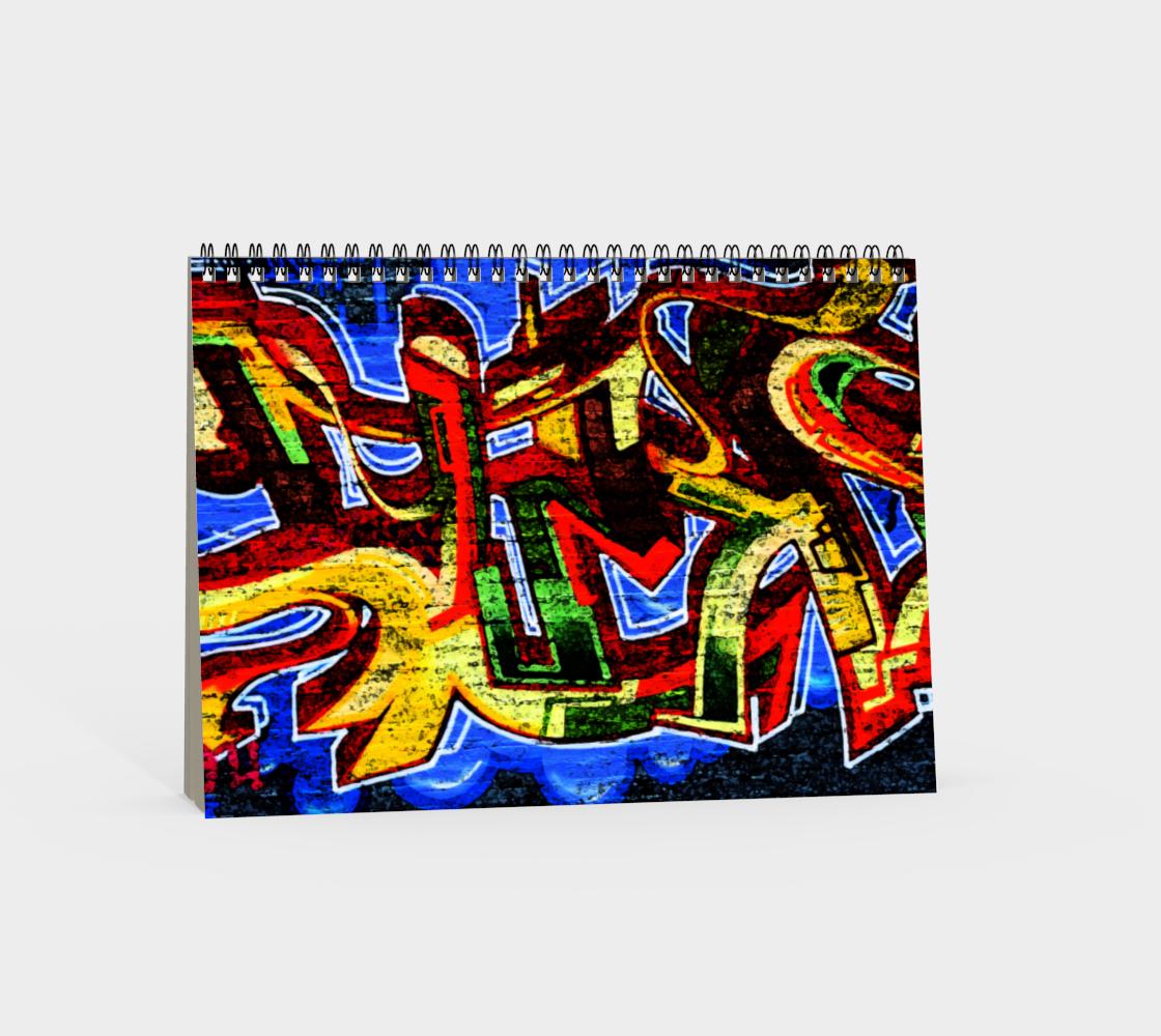 Graffiti 17 Spiral Notebook preview #4