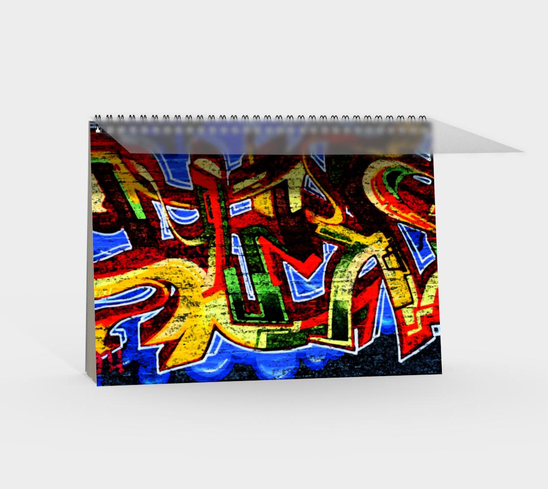 Graffiti 17 Spiral Notebook preview #2