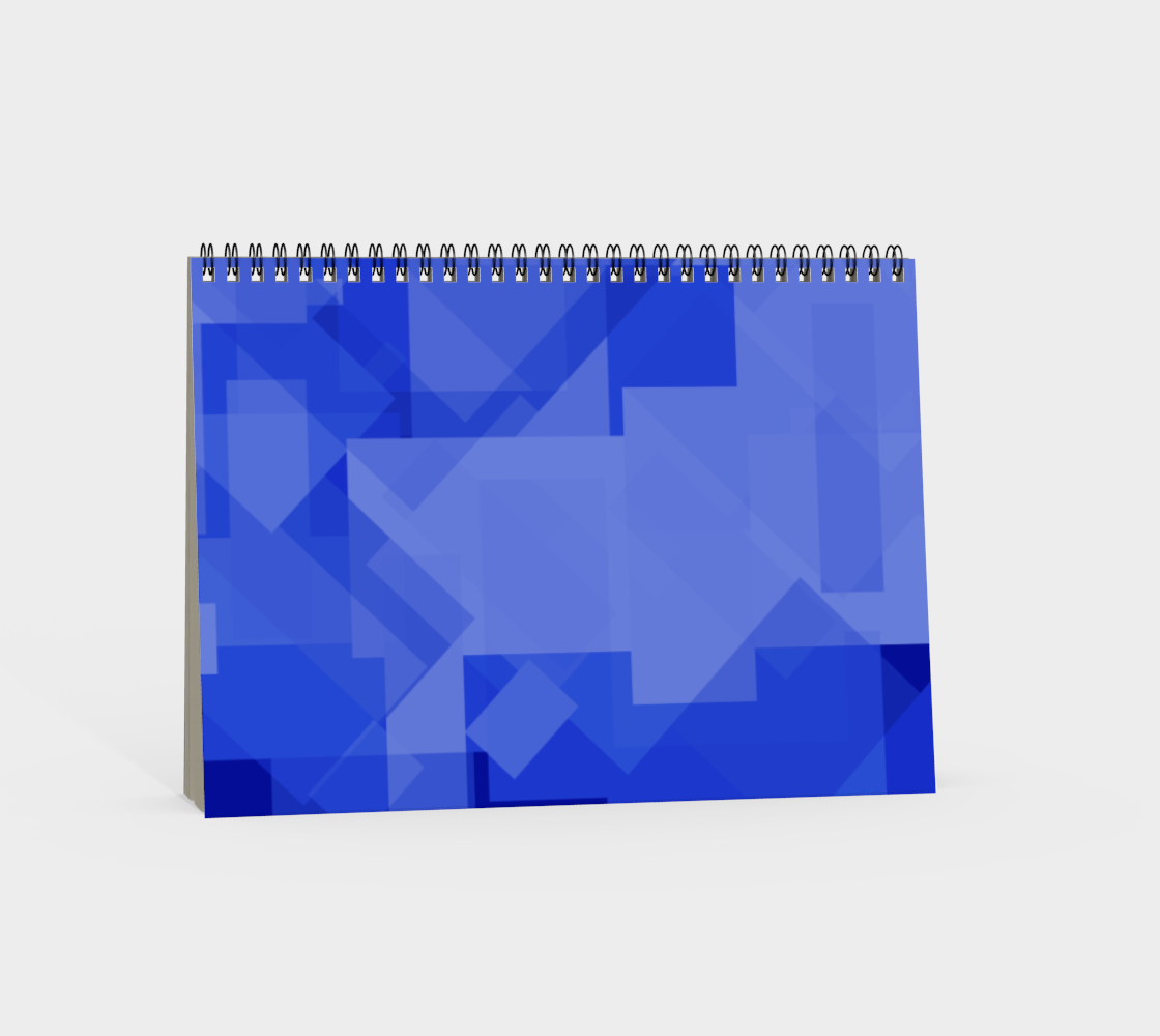 Blue is Better Spiral Notebook preview #4