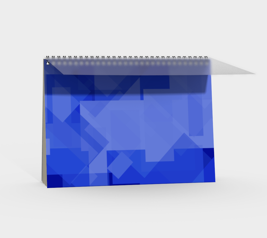 Blue is Better Spiral Notebook preview #2