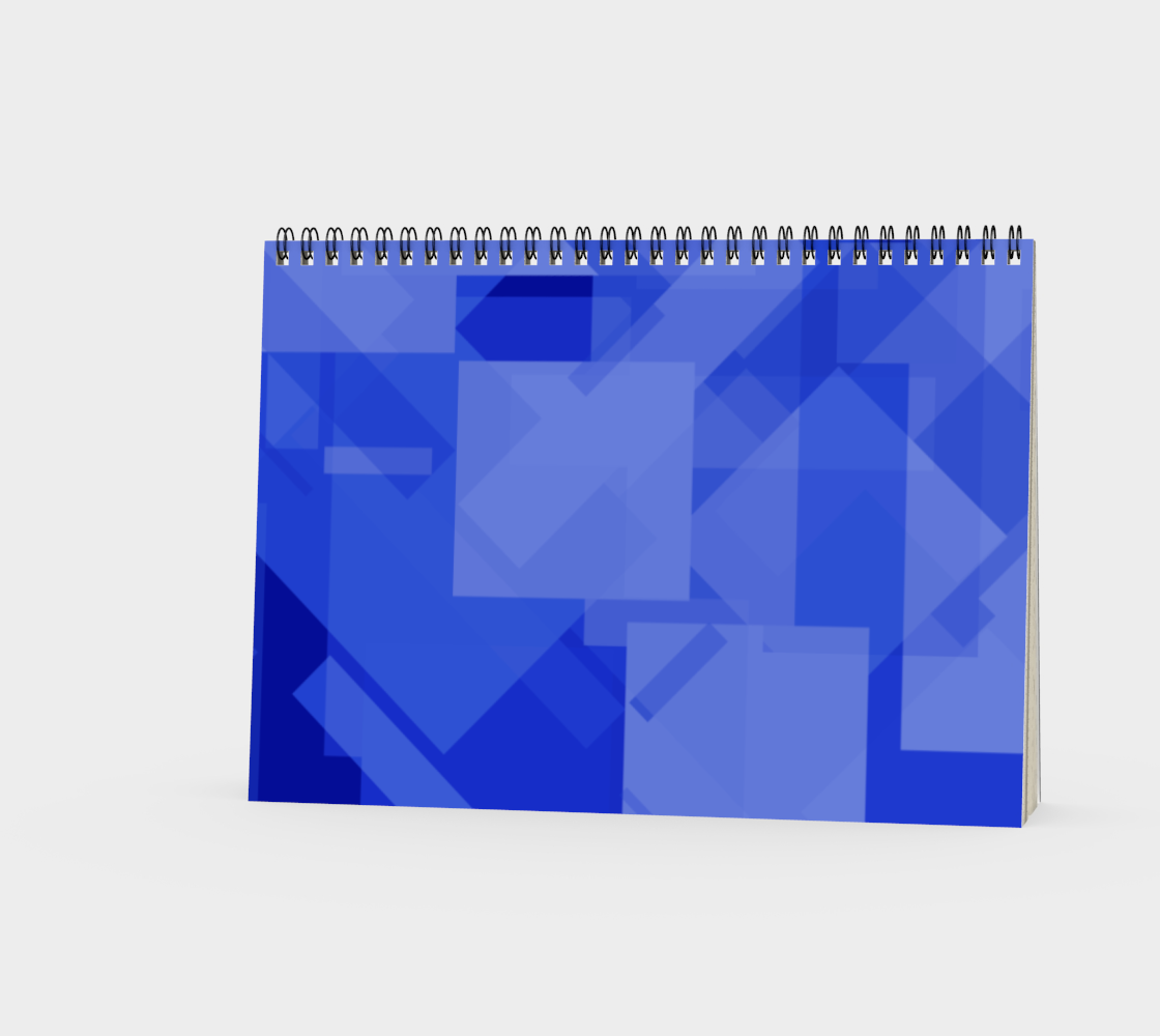 Blue is Better Spiral Notebook preview #3