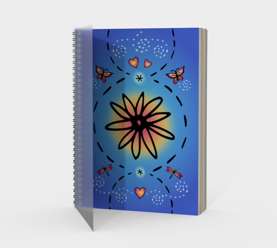 Daisy Love Spiral Notebook preview