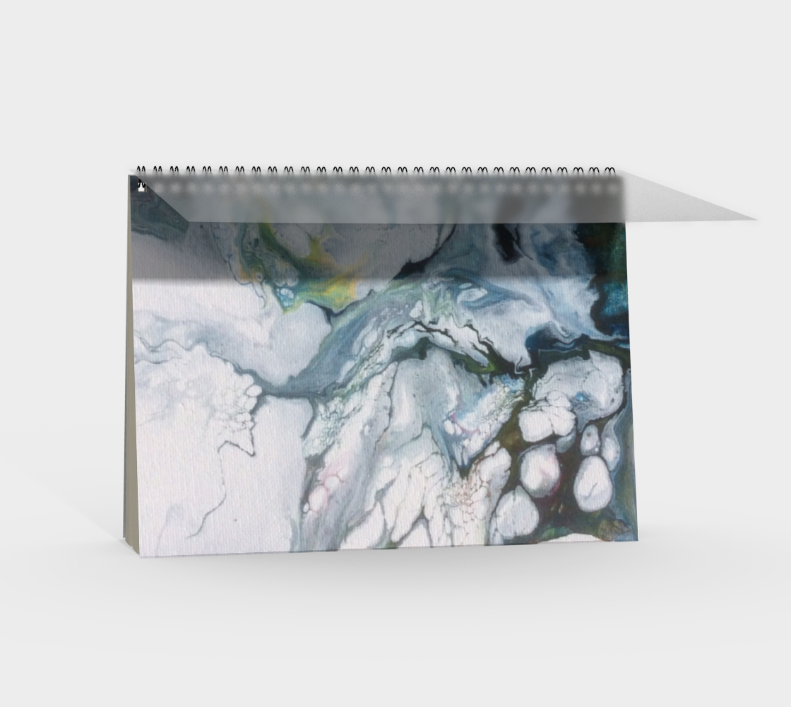 Aperçu de Le lys des glaces - Carnet/spirale(paysage) #2
