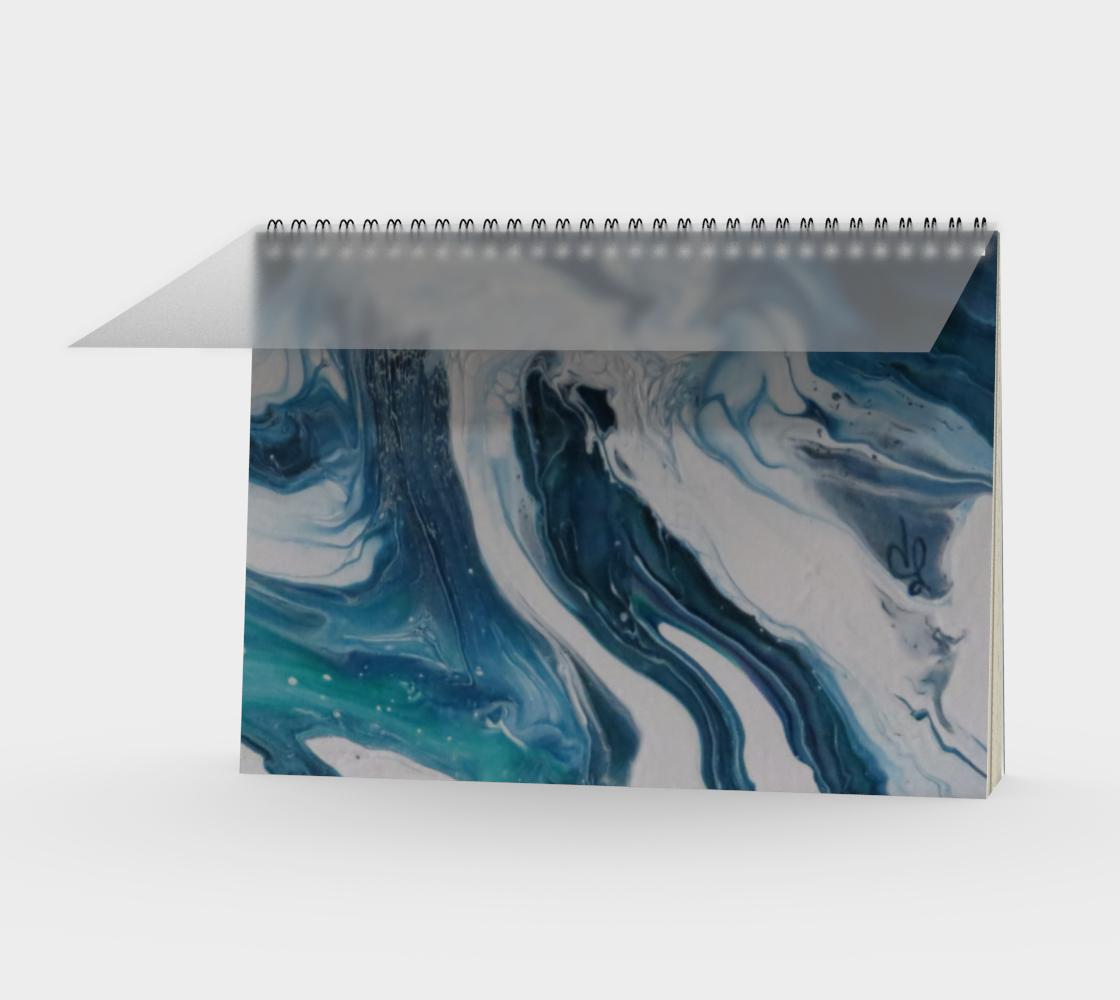 Aperçu de Écume de mer - Carnet/spirale(paysage)