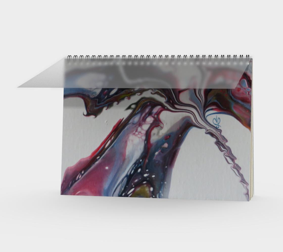 Aperçu de Fleur sauvage - Carnet/spirale(paysage)
