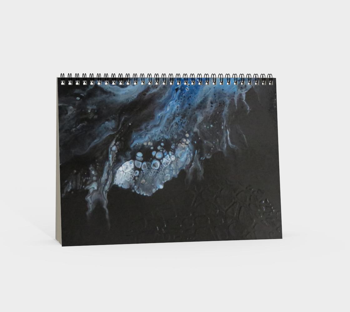 Aperçu de Les eaux déchainées - Carnet/spirale(paysage) #4