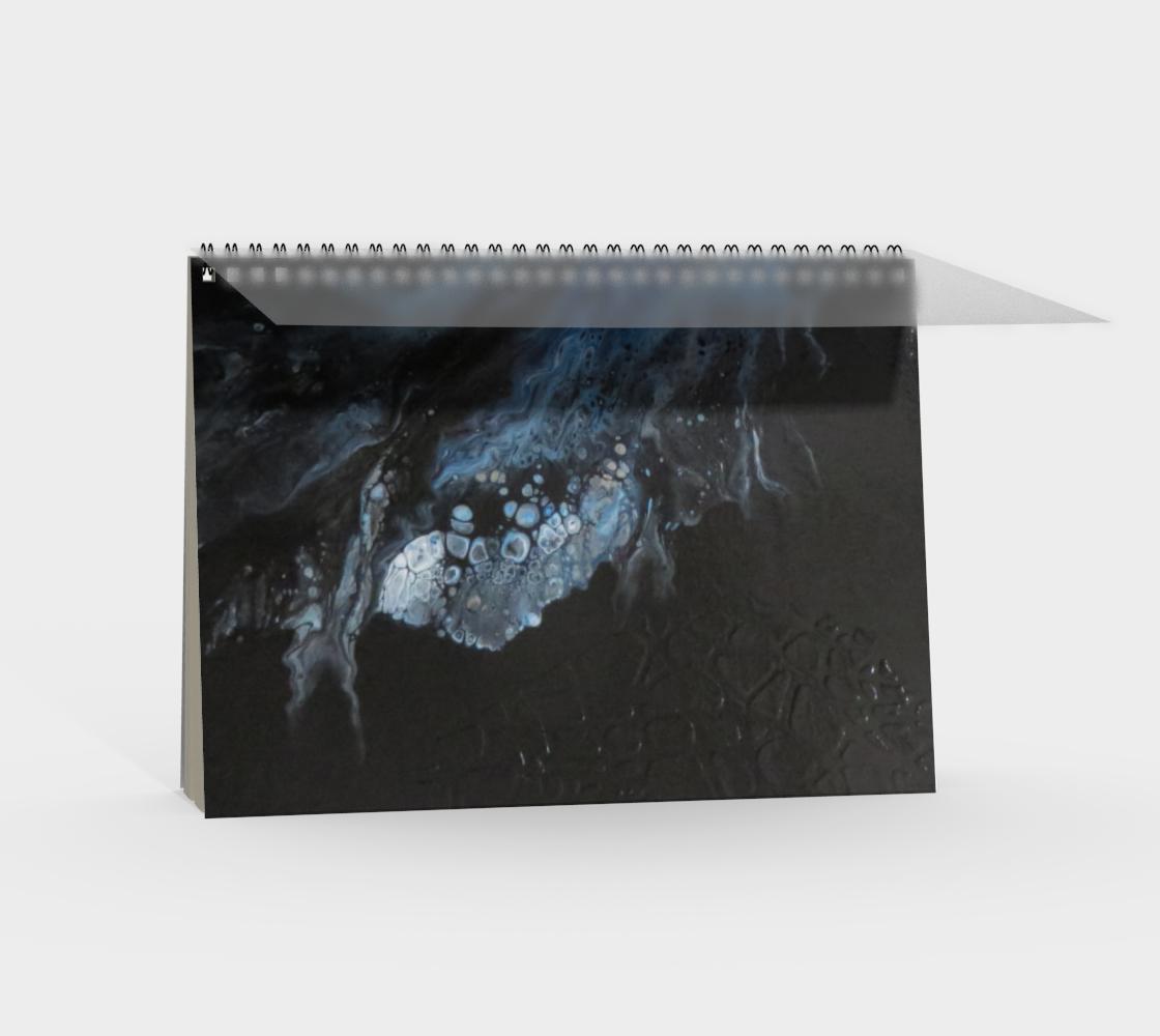 Aperçu de Les eaux déchainées - Carnet/spirale(paysage) #2