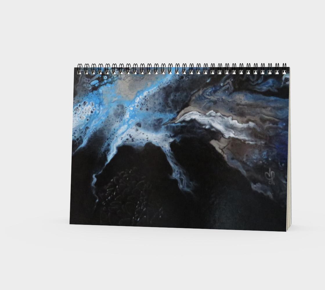 Aperçu de Les eaux déchainées - Carnet/spirale(paysage) #3